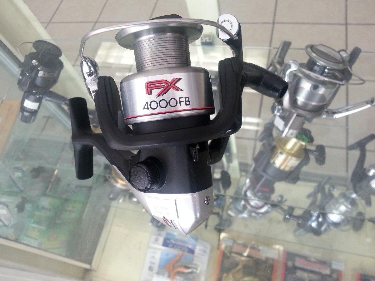 0152e81708d Carrete Shimano Spinning Fx 4000 Fb - $ 598.95 en Mercado Libre
