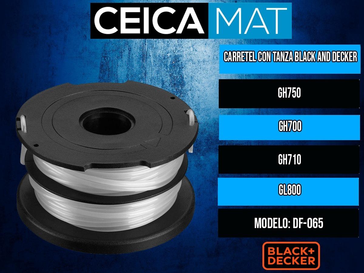 Carretel Con Tanza Black Decker Gh750 Gh700 Gh710 Gl800
