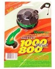 carretel fio de nylon completo trapp master 800/1000 plus