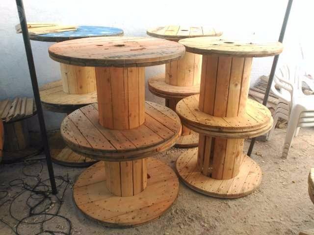 carreteles de madera para decoracion varias medidas
