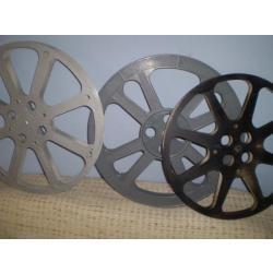 carretes para cinta de 16 mm