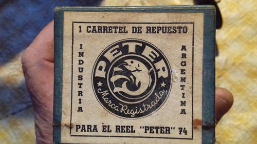 carretes reel peter 74
