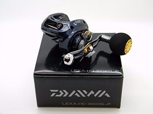carretilha daiwa lexa-hd 300xs-p 300xsl-p perfil baixo 8.1:1