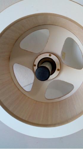 carretilha madeira pipa 35 cm+pipa+linha+rabiola+fita dedo