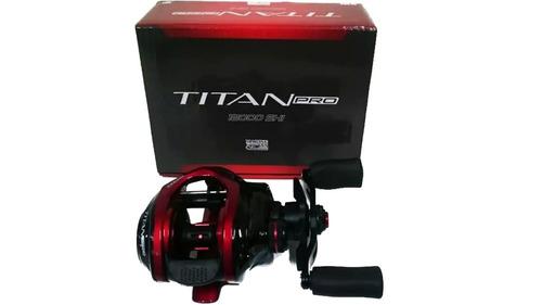 carretilha marine sports titan pro 12000 drag: 5,5kg + brind