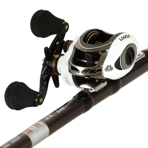 carretilha para pesca 11 rol carretel de al+capinha protecao