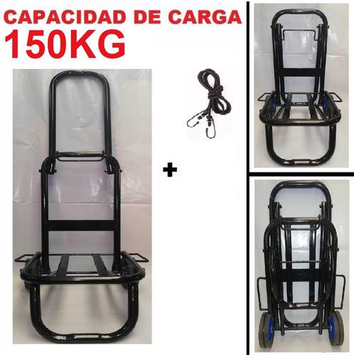 carretilla, carreta, carrito, coche de carga plegable 150kgs