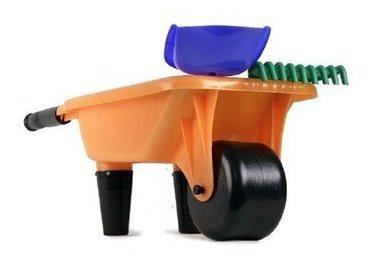 carretilla carreta de juguete niños juego arena playa pala