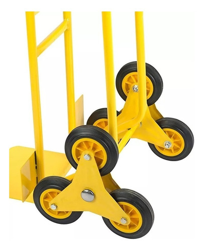 carretilla carro carreta zorra 3 ruedas 200kg kulbart ht2009