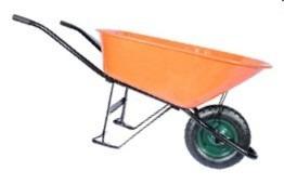 carretilla color naranja marca npo