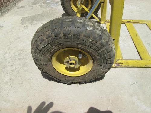 Carretilla de 2 ruedas amarrilla bs en - Ruedas de carretilla ...