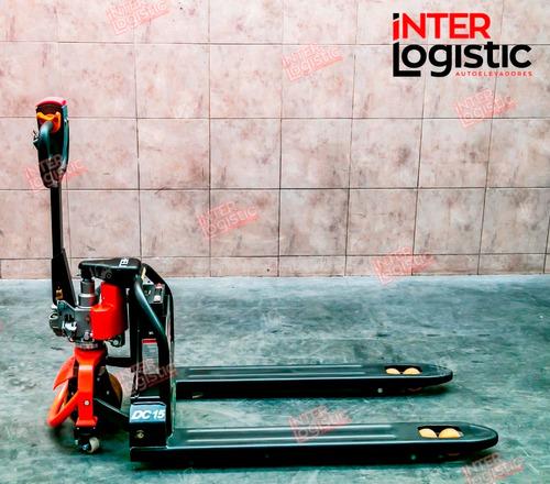 carretilla eléctrica litio heli 1500 kg nueva 0 km