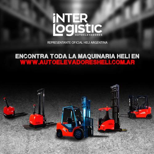 carretilla manual heli interlogistic 2500 kg nuevo 0 km