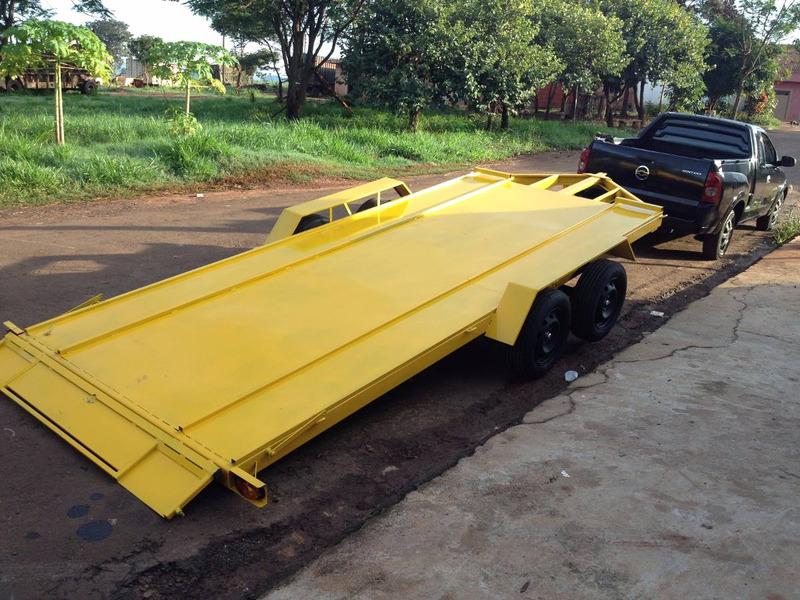 carretinha carreta reboque basculante  carro automovel