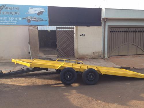 carretinha carro transporte de veiculos sem freio a partir