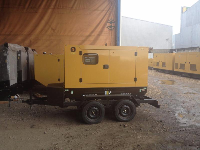 carretinha gerador de energia compressores