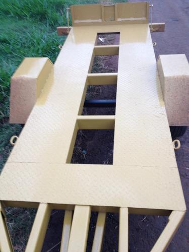 carretinha mini escavadeira kubota yanmar basculante 1000 kg