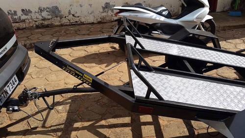 carretinha p/ quadriciclo outlander, can-am, fourtrax e outr