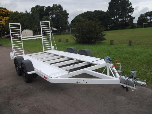 carretinha p/ transporte de carro (41)3365-3589 nd carretas