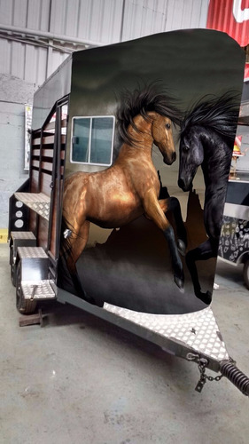 carretinha para 2 cavalos