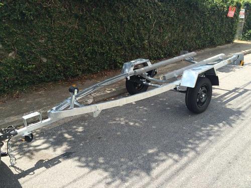 carretinha para jet ski - carreta jet ski - galvanizada 0km