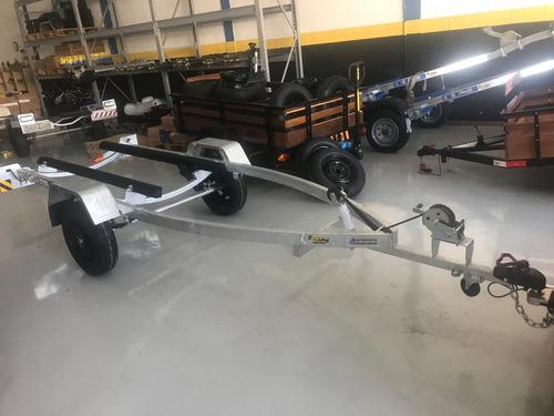 carretinha para jet ski galvanizada - carreta jet ski 0km
