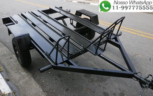 carretinha para transportar ate 3 motos 2018 0km