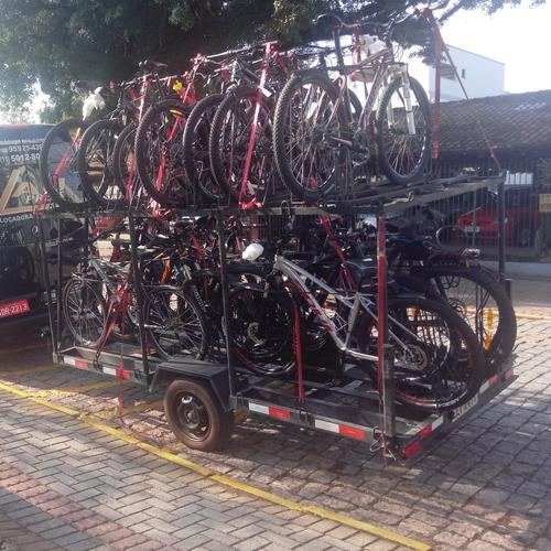 carretinha para transporte de bicicletas (aluguel)