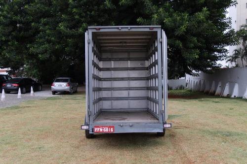 carretinha, reboque carga seca, bau, locação ou venda.
