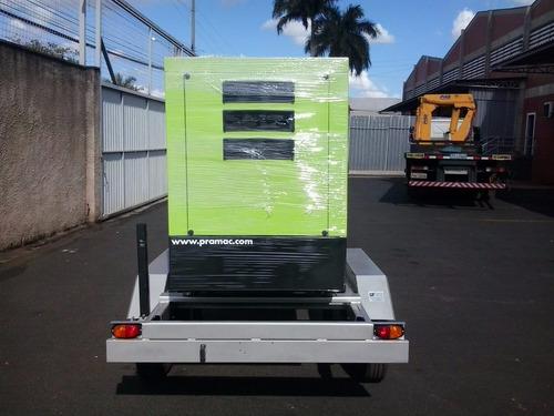 carretinha reboque gerador energia compressor conteiner