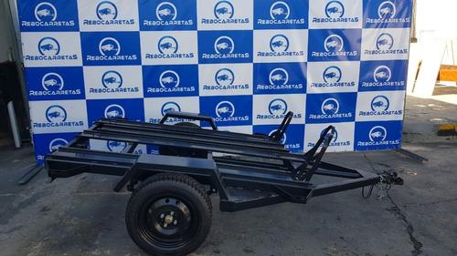 carretinha reboque para 3 motos carrocinha rebocar motocross