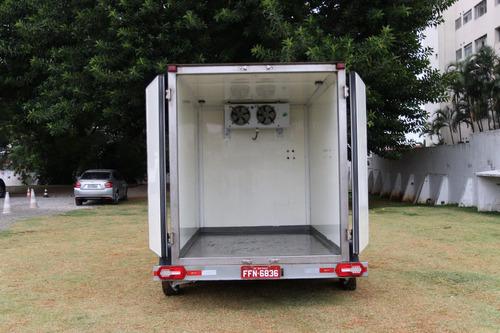 carretinha reboque refrigerada, baú, locação ou venda