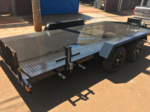 carretinha transporte veicular jeep caminhonete carro