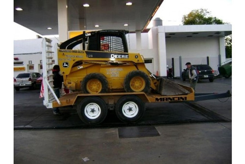 carretón para máquinas, vehículos, minicargadoras