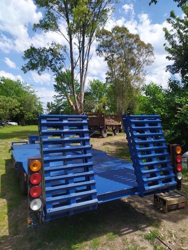 carretón trailer batan acoplado