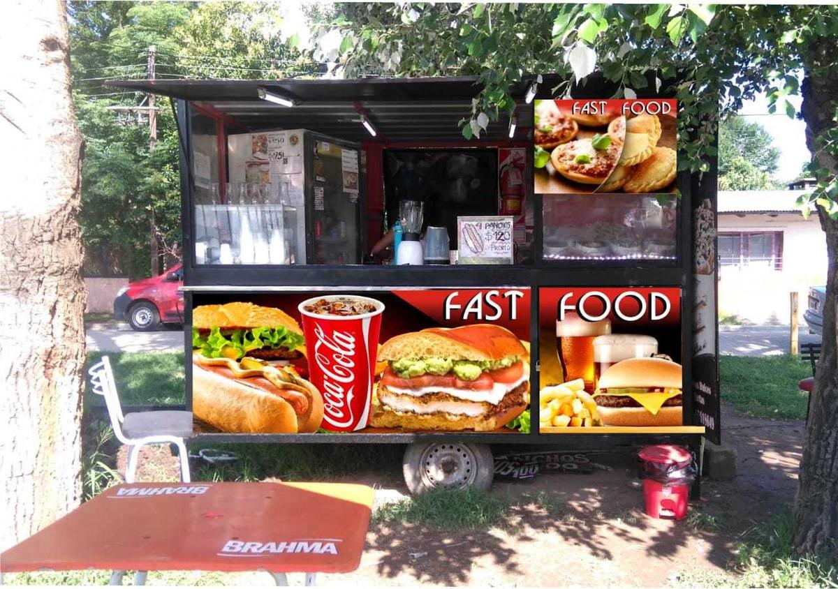 carribar carro gastronomico habilitado alquiler o venta