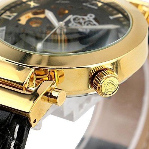 Carrie Hughes Reloj Dorado De Moda Para Hombre Steampunk ... e4605130824f
