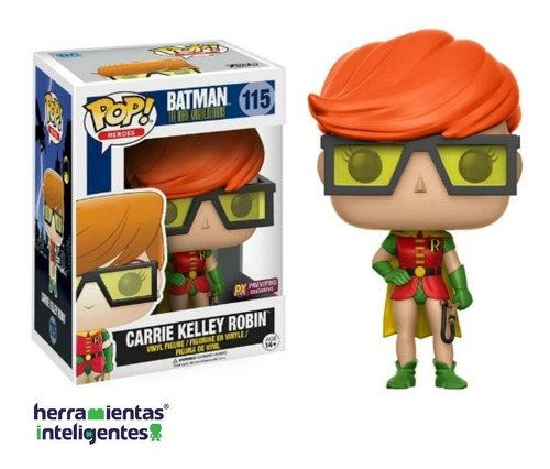 carrie kelley robin funko dark knight returns px exclusive