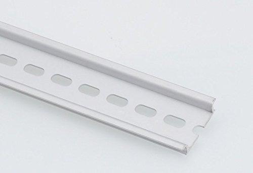 carril din de aluminio con diseño ranurado de 20 piezas y 3