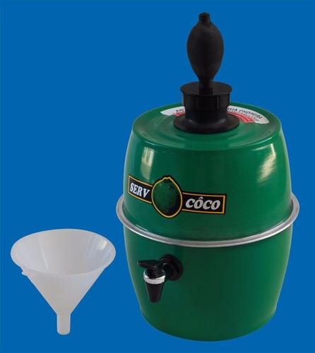 carrinho água de coco mesa inox serv coco - armon aclp009