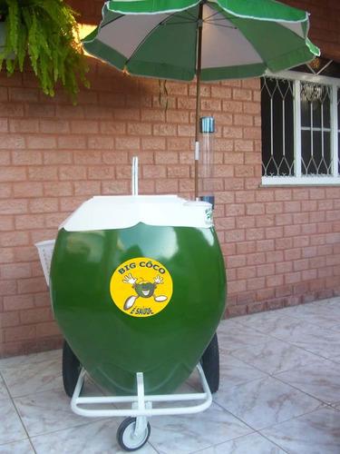 carrinho água de coco( modelo exclusivo)