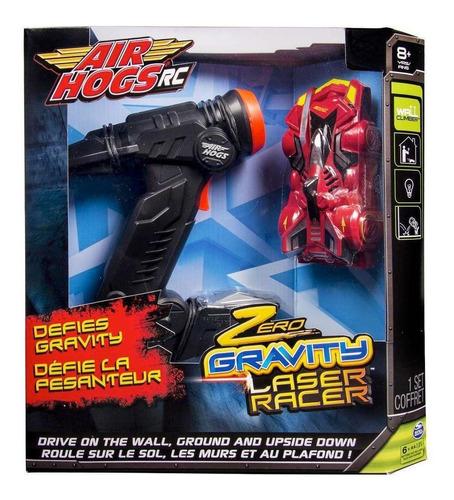 carrinho air hogs zero gravity laser racer 2101 sunny