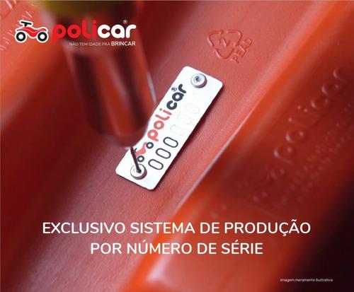 carrinho andador policar® soft vermelho - 7089