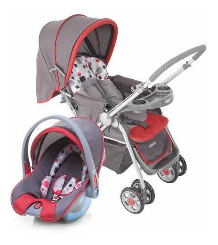 carrinho bebê com bebê conforto travel system reverse cosco