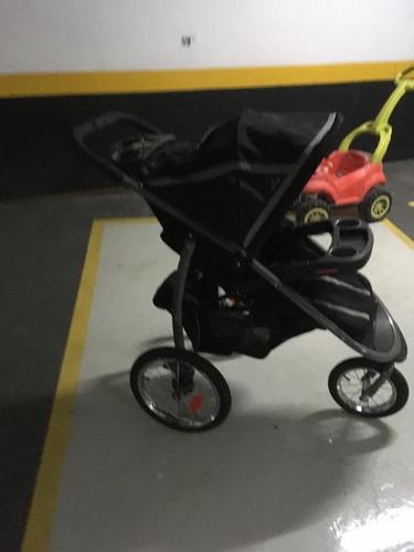 carrinho + bebê conforto - graco click connect