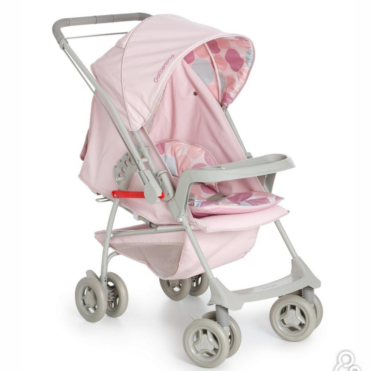 048762e33b carrinho bebe galzerano milano reversivel ii rosa1016rob. Carregando zoom.