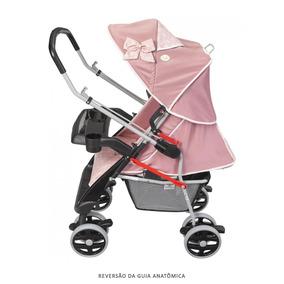 15110f6d0a Carrinho De Bebê Berço Reversível Styll Baby Com Bolsa Rosa - Bebês ...