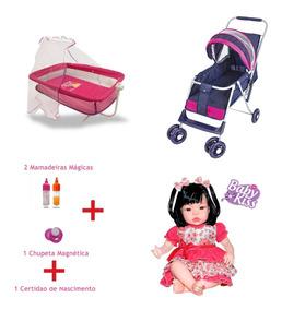 0050646772f8 Berço Para Bebe Reborn - Bonecas e Acessórios no Mercado Livre Brasil