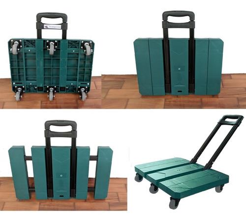 carrinho carga plataforma dobravel multiuso e multifuncional