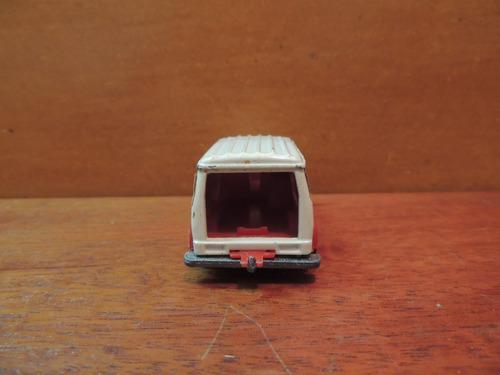 carrinho coleção majorette fourgon made in france